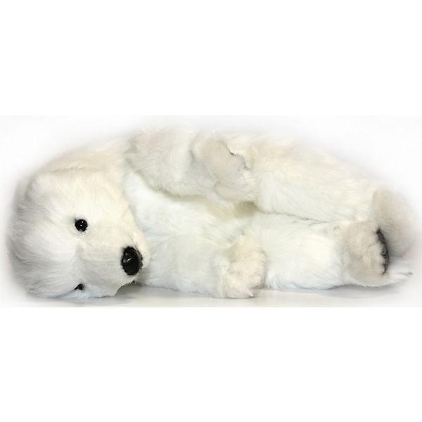 Детеныш полярного медведя, спящий, 30 см