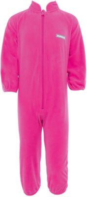Комбинезон флисовый Roland для девочки Huppa - розовый