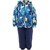 Комплект: куртка и полукомбинезон для мальчика  Huppa