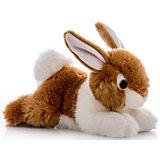 Мягкая игрушка Кролик коричневый, 28 см, AURORA