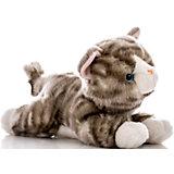Мягкая игрушка Котенок серый, 28 см, AURORA