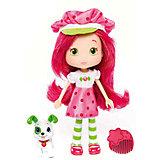 Кукла Земляничка с питомцем, 15 см, The Bridge
