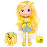 Кукла Лимона с питомцем, 15 см, Шарлотта Земляничка, The Bridge