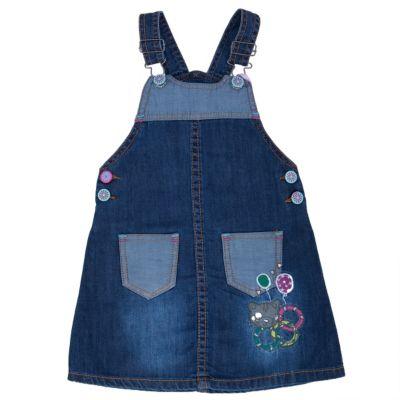 Сарафан джинсовый для девочки Sweet Berry - синий