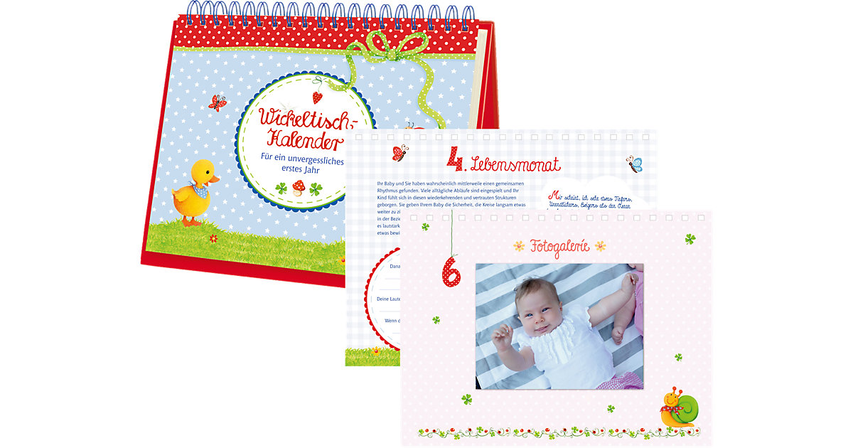 Buch - BabyGlück: Wickeltisch-Kalender