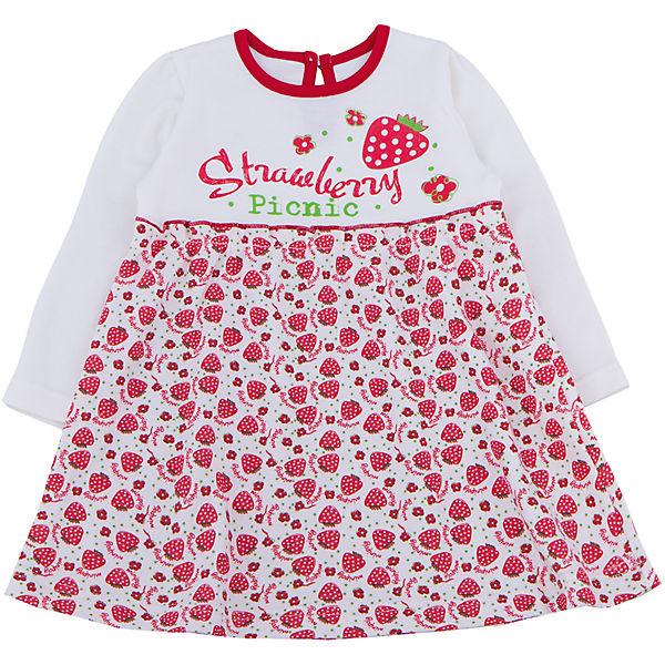 Платье для девочки Апрель - красный
