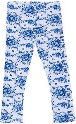 Леггинсы для девочки Апрель - синий