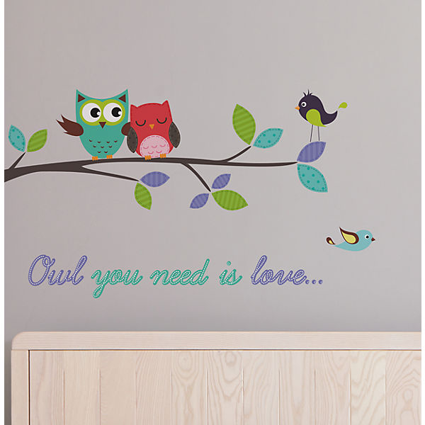 "Wandtattoo ""Owl You Need"""
