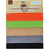 """Стигис-аппликация """"Набор ткани маленький №4"""""""