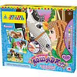 """Мозаика-набор """"Моя любимая лошадка"""", 4 картинки"""