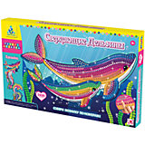 """Мозаика-набор """"Сверкающие дельфины"""", 4 картинки"""