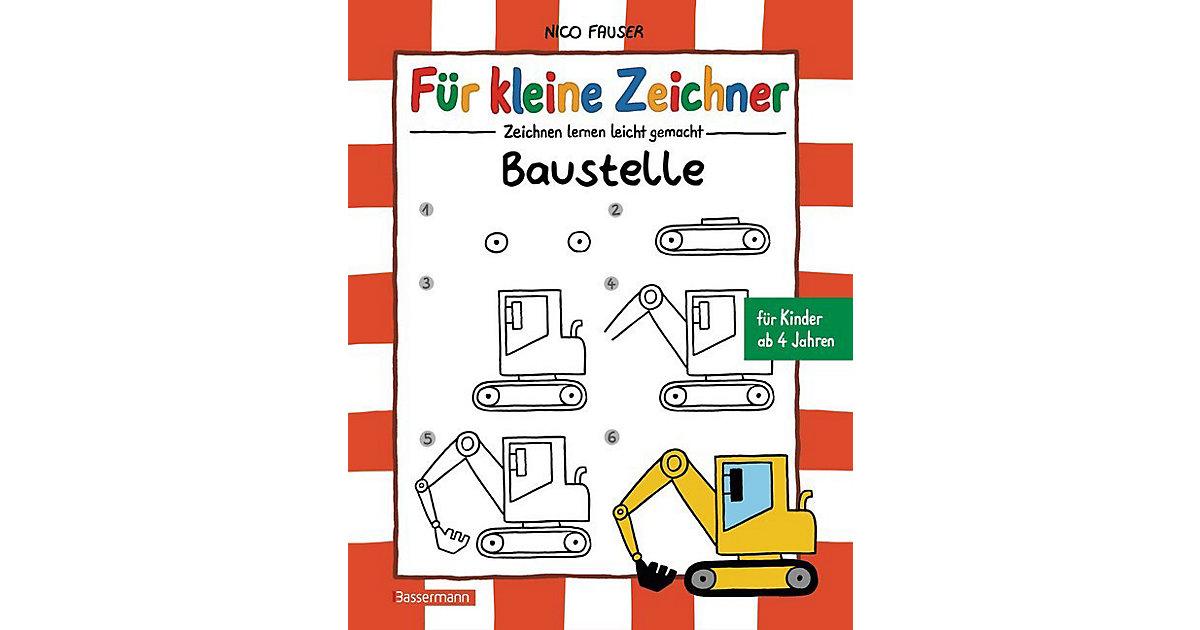 Buch - Für kleine Zeichner: Baustelle
