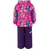 Комплект: куртка и полукомбинезон для девочки atPlay!