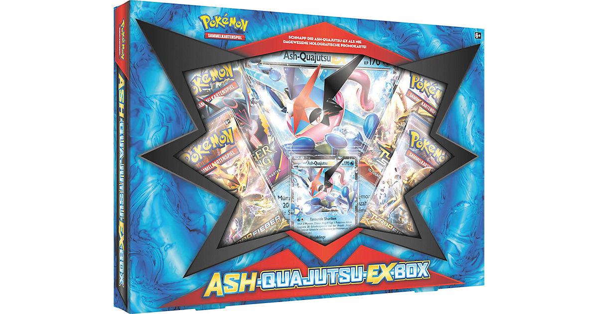 Pokemon Ash-Quajutsu-EX Box