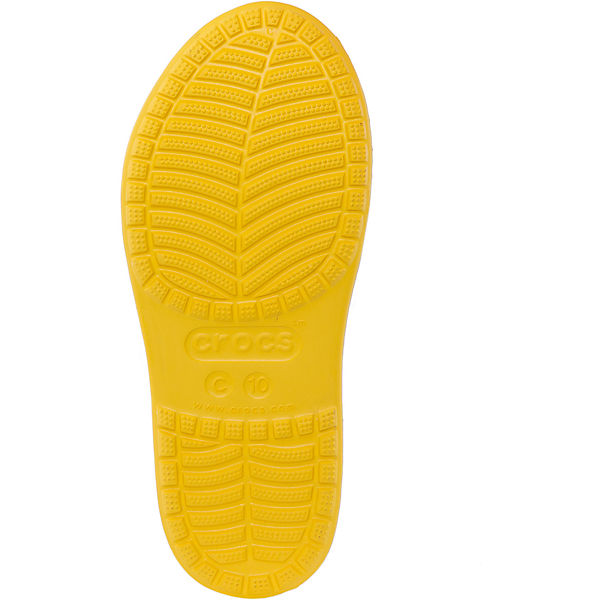 Резиновые сапоги Kids' Crocs Bump It Rain Boot Crocs, желтый