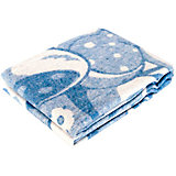 Одеяло байковое Медвежонок, 100х140, Baby Nice, голубой