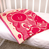 Одеяло байковое Медвежонок, 100х140, Baby Nice, розовый