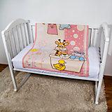 Одеяло байковое Купание, 85х115 2-сторон., Baby Nice, розовый