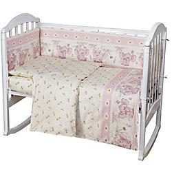 Постельное белье Слоник 6 пред., Baby Nice, розовый