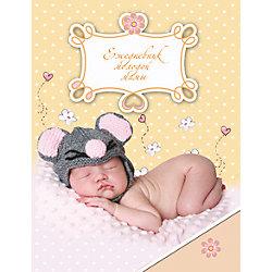 """Ежедневник молодой мамы """"Спящий малыш"""