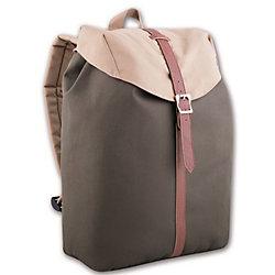 Рюкзак молодежный, серо-бежевый