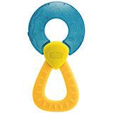 """Прорезыватель-игрушка Fresh Relax """"Кольцо"""" 4мес.+, CHICCO, голубой"""