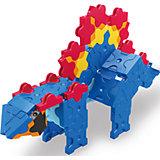 Конструктор Mini Stegosaurus, 88 деталей, LaQ
