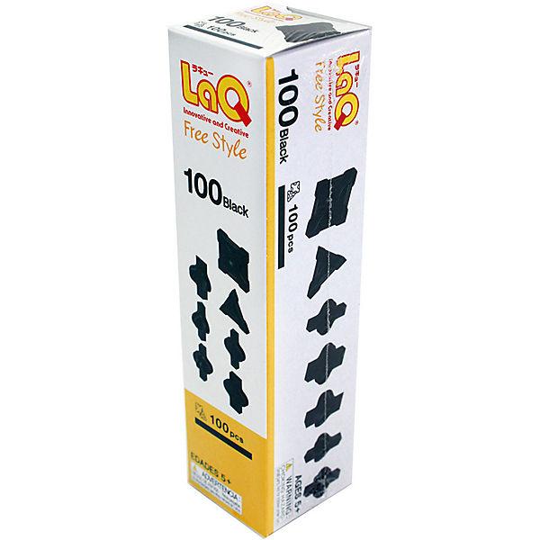 Конструктор 100 Black, 100 деталей, LaQ