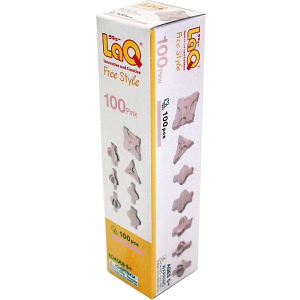 Конструктор 100 Pink, 100 деталей, LaQ