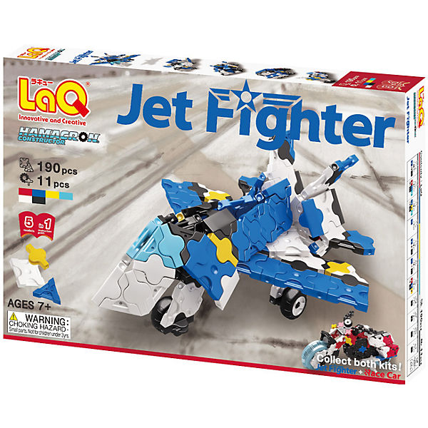 Конструктор Jet Fighter, 190 деталей, LaQ