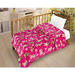 Плед Велсофт-беби в кроватку VB13, Letto, 95см.