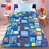 Покрывало-одеяло Смартфон 140*200, стеганное, Letto