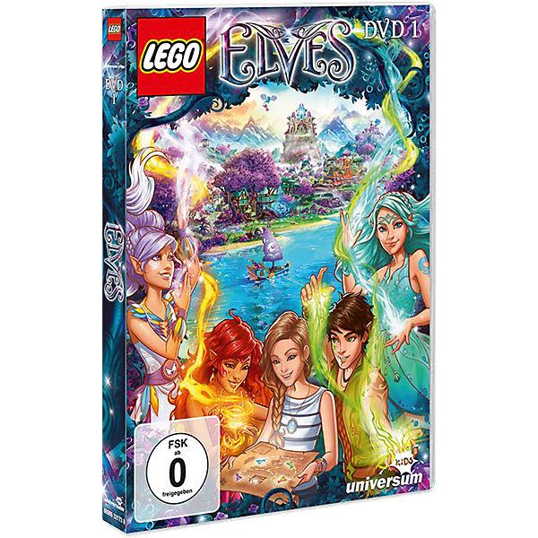 Ausmalbilder Lego Elves Drachen: DVD LEGO Elves - Die Elfen Aus Elvendale 1, LEGO