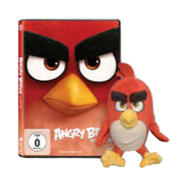 DVD Angry Birds - Der Film (+ Plüschfigur Red)