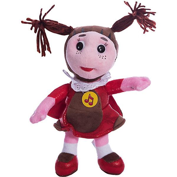 Мягкая игрушка Мила, 21см, со звуком, Лунтик и его друзья, МУЛЬТИ-ПУЛЬТИ