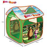 Игровая палатка , Маша и медведь, Играем вместе