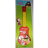 Гитара, с медиатором, Маша и медведь, Играем вместе