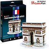 "Пазл 3D ""Триумфальная арка (Франция)"", CubicFun"