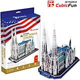 """Пазл 3D """"Собор Святого Патрика (США)"""", CubicFun"""
