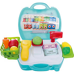 """Набор в чемоданчике Профи """"Продавец Супермаркета"""", 23 предмета, 1toy"""