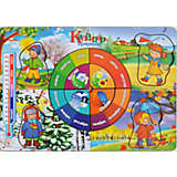 Развивающая рамка-вкладыш  «Календарь природы», Мастер игрушек
