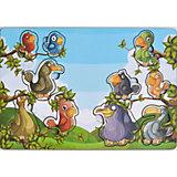 Развивающая рамка-вкладыш  «Веселые птахи», Мастер игрушек