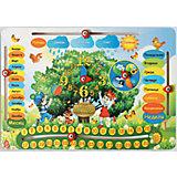 Развивающая игрушка: обучающая доска  «Календарь», Мастер игрушек