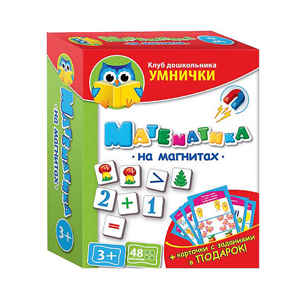 """Игра """"Математика на магнитах"""", Vladi Toys"""