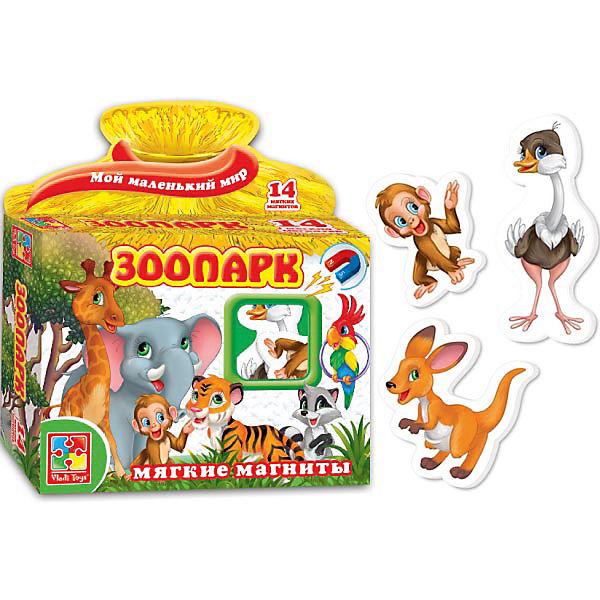 "Игра на магнитах ""Зоопарк"", Vladi Toys"