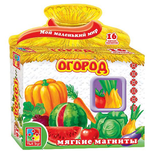 "Игра на магнитах ""Огород"", Vladi Toys"