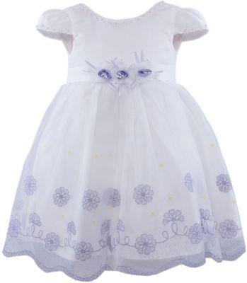 Нарядное платье для девочки Vitacci - синий/белый