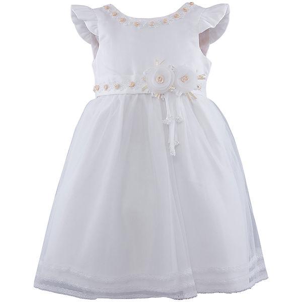 Платье для девочки Vitacci - белый/золотой