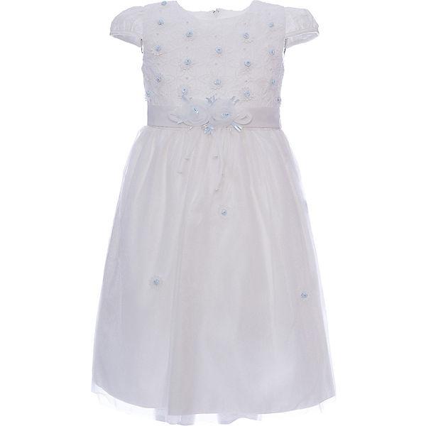 Платье для девочки Vitacci - бело-розовый