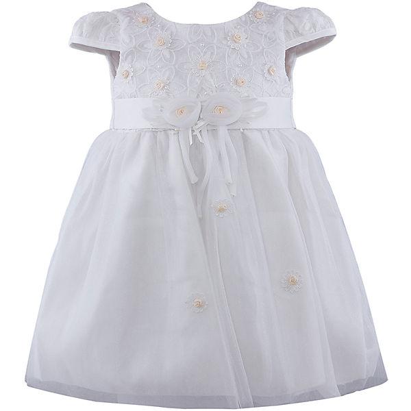 Платье для девочки Vitacci - бело-желтый